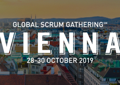 Global Scrum Gathering Vienna 28-30 October 2019